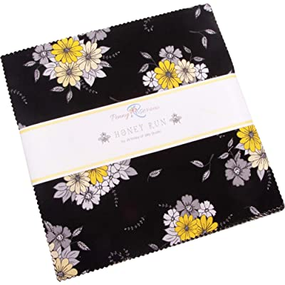 "Jill Finley Honey Run 10"" Stacker 42 10-inch Squares Layer Cake Penny Rose Fabrics: Arts, Crafts & Sewing"
