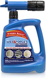 Wet & Forget Roof and Siding Cleaner for Easy Removal of Mold, Mildew and Algae Stains