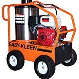 Easy-Kleen Professional 4000 PSI (Gas - Hot Water) Pressure Washer with a Genuine Honda Engine with Electric Start (12V Burne