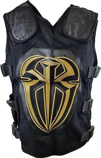 3dac3853d4cf4 WWE Roman Reigns Gold Replica Vest  Amazon.co.uk  Clothing