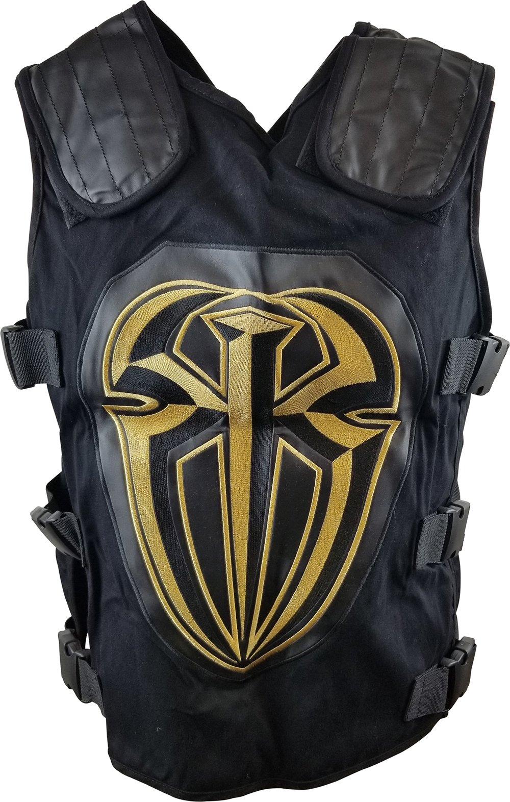 Roman Reigns Gold WWE Authentic Tactical Replica Vest by WWE Authentic