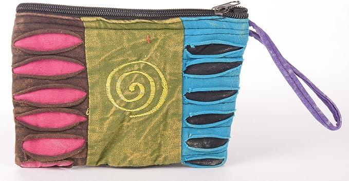 Hippie estuche | fabricado a mano en Nepal | Paz y Amor | para bolígrafo, color Spiral: Amazon.es: Oficina y papelería