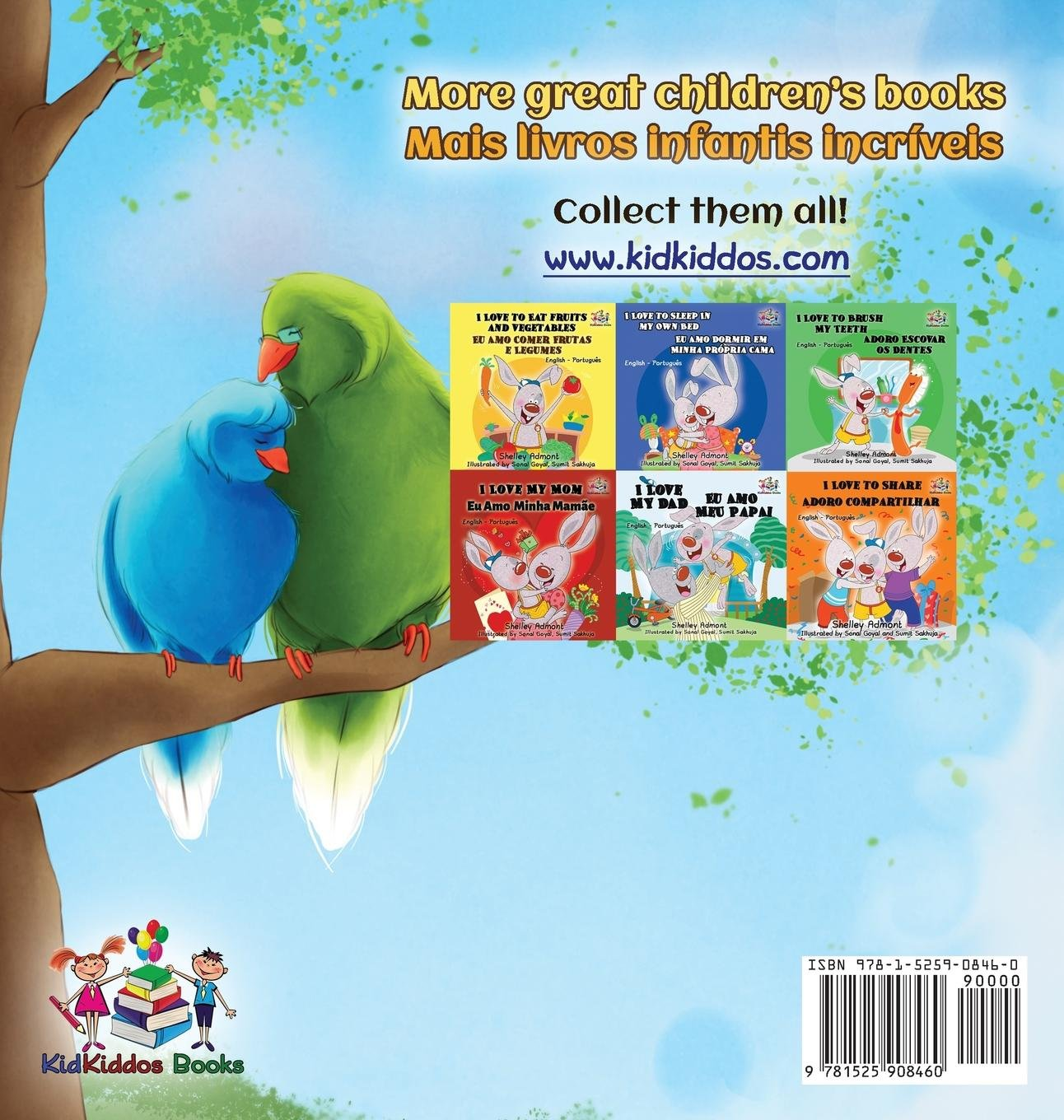 Goodnight My Love English Portuguese Childrens Book Bilingual Brazilian For Kids Collection