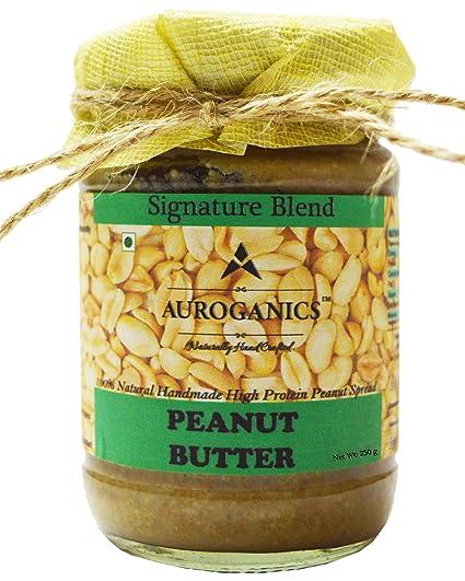 Auroganics Signature Blend Peanut Butter 250 Gm
