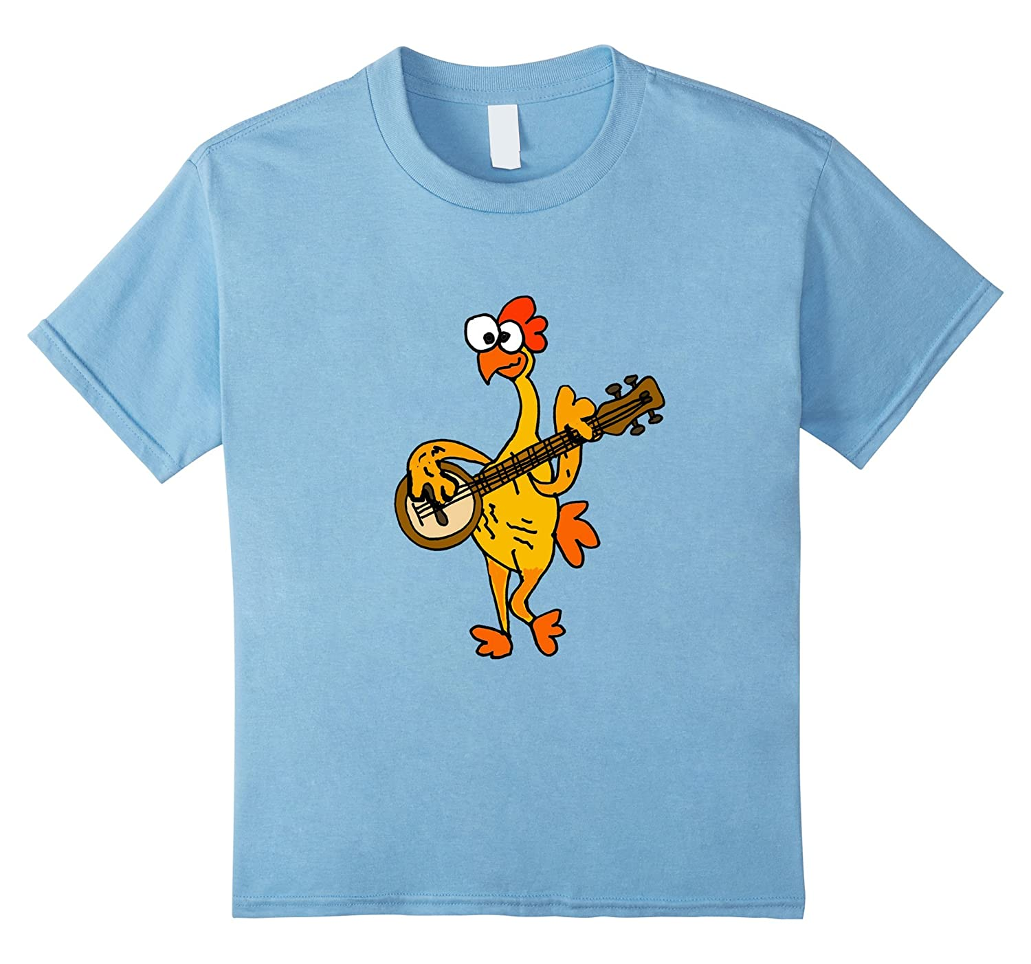 Smiletodaytees Rubber Chicken Playing T shirt-Tovacu