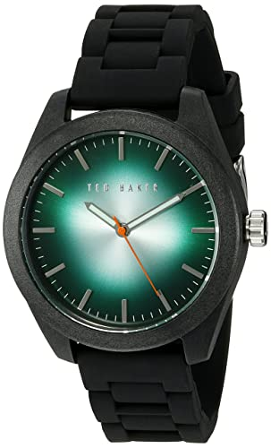 31c95dfbe Image Unavailable. Image not available for. Color  Ted Baker Men s 10024792 Sport  Analog Display Japanese Quartz ...
