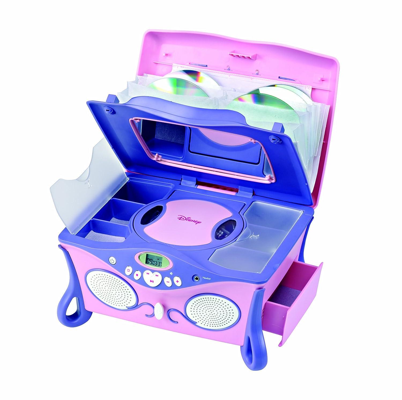 Lexibook RCD100DP Boombox CD Player-Disney Princess Pocket