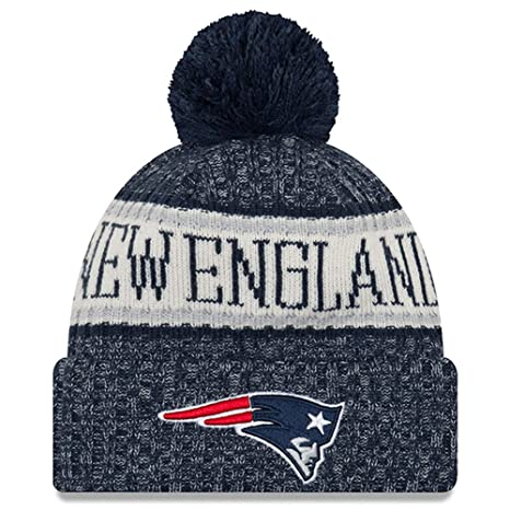 Image Unavailable. Image not available for. Color  New Era Youth New  England Patriots Sport Knit NFL Beanie Navy ... fe677f25d410