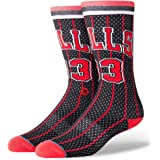 Stance Chicago Bulls Scottie Pippen #33 Jersey 96 HWC NBA Socks Black