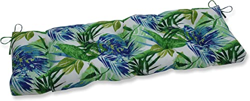 Pillow Perfect Outdoor/Indoor Soleil Tufted Bench/Swing Cushion