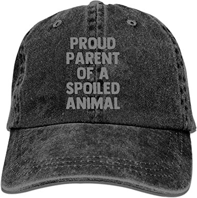Proud Parent of A Fur Baby Unisex Adult Hats Classic Baseball Caps Peaked Cap