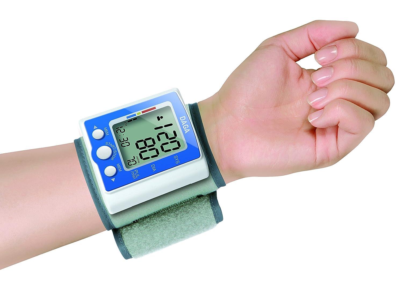 Daga PM-130- Tensiómetro de Muñeca-Monitor Digital de Presión Arterial: Amazon.es: Salud y cuidado personal