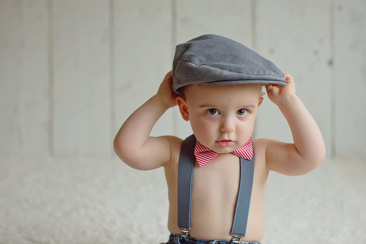 fa946e7d Born to Love Baby Boy's Hat Grey Herringbone Driver Page Boy Cap:  Amazon.co.uk: Clothing