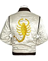 TAF Men's Drive Jacket with Golden Scorpion - Ryan Gosling Famous Scorpion Jacket
