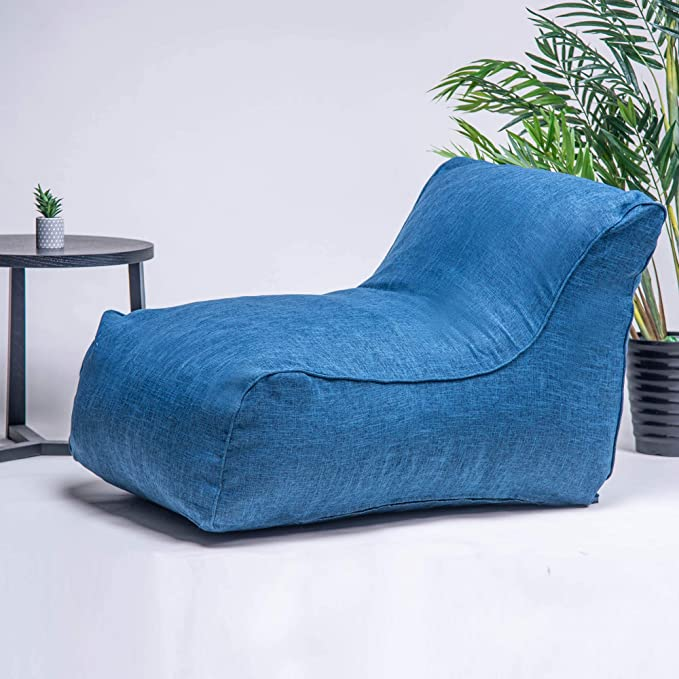 Amazon.com: DERCASS Bean Bag Chair, Foam Lounger 15.75 Huge ...