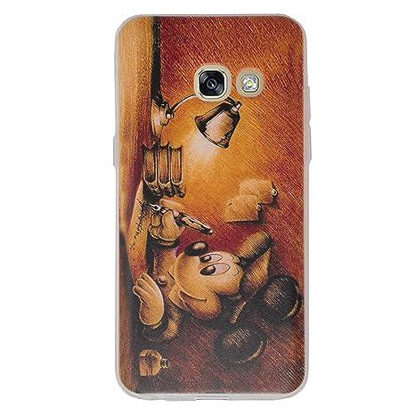 5bbb4a9cb9f2a8 Disney Citation Étui Coque de Téléphone pour Samsung Galaxy A3 2017   Silicone  Doux Gel