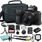 Nikon Z50 Mirrorless Digital Camera with 16-50mm Lens (1633) USA Model + Camera Bag + 46mm UV Filter + SanDisk 64GB Extreme P