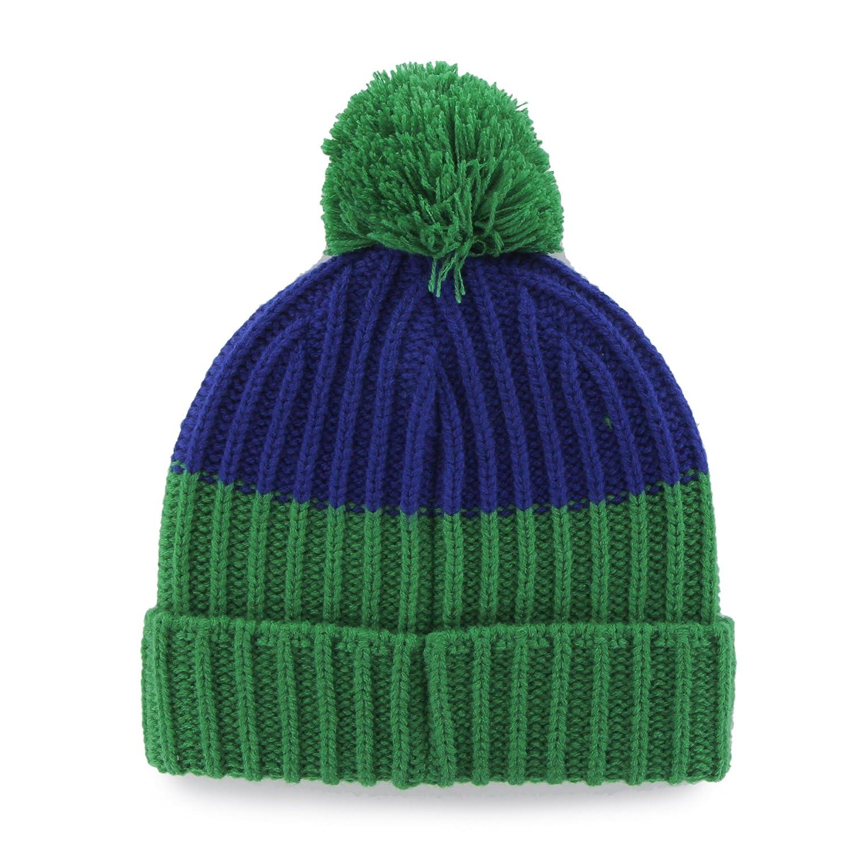 47 Brand Gridiron Founder Cuff Beanie Hat with POM POM NFL Cuffed Winter Knit Toque Cap