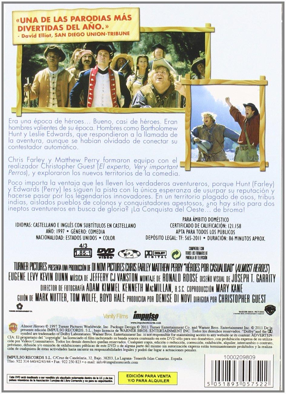 Amazon.com: Heroes Por Casualidad (Import Movie) (European ...