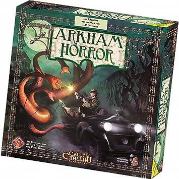Heidelberger Spieleverlag HE105 - Arkham Horror Deutsch, Juego de Mesa [Importado de Alemania]: Amazon.es: Juguetes y juegos