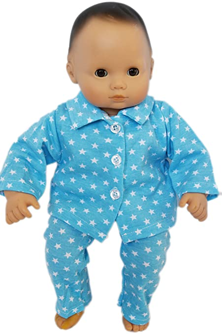 Amazon Com My Brittany S Blue Star Pjs For Bitty Baby Dolls 15