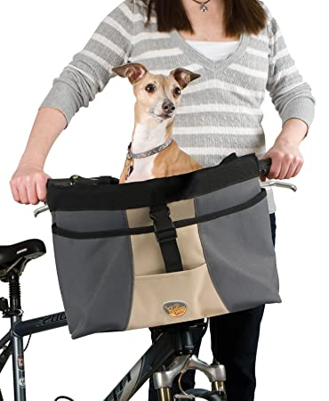 Restless Tails Front Bicycle Basket Carrier For Pets