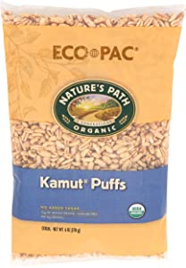 Natures Path, Cereal Kamut Puffs Organic, 6 Ounce