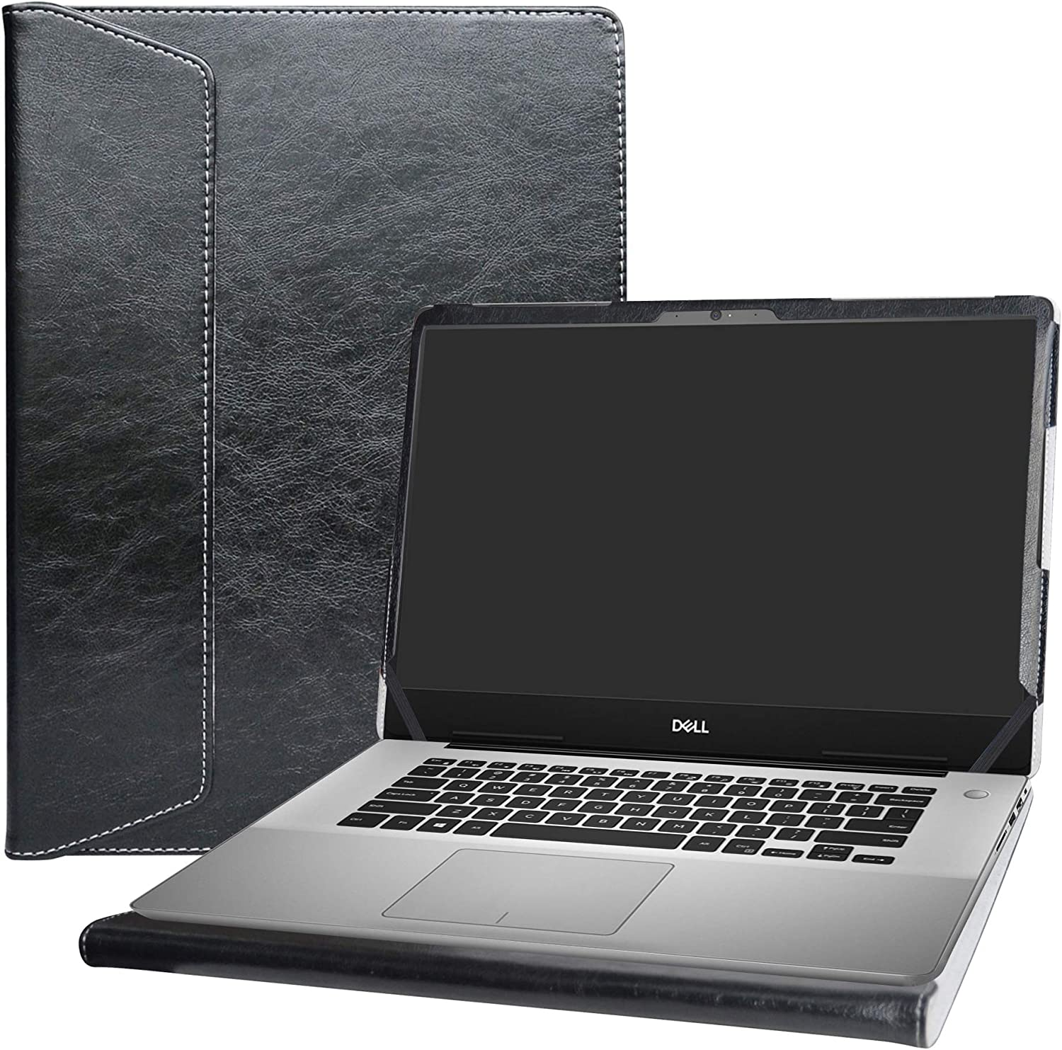"""Alapmk Protective Case Cover for 15.6"""" Dell inspiron 15 5580 i5580 5585 i5585/inspiron 15 2-in-1 7590 7591/Vostro 15 5581 Series Laptop[Note:Not fit Dell inspiron 15 5584/Latitude 15 5580],Black"""