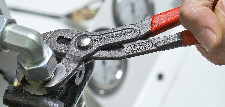 Knipex 87 01 180 SB - Tenazas Ajustables Cobra
