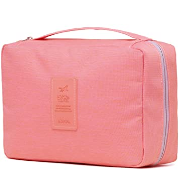 Amazon.com   Toiletry Bag Travel Toiletries Bag Sturdy Hanging Organizer  for Women   Beauty 2f8ac48f4e50f