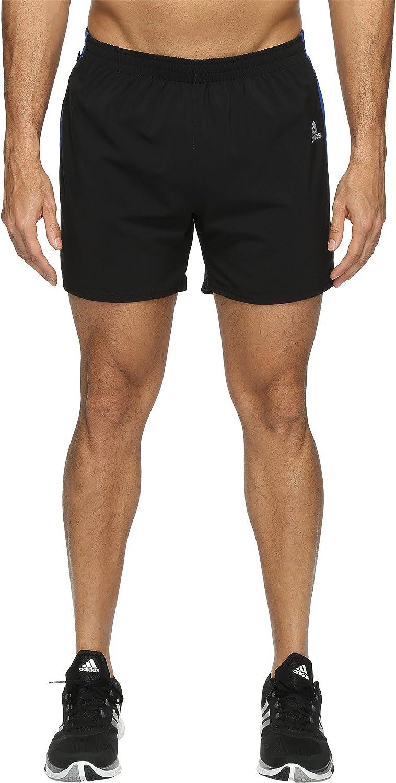 Adidas Men 's Running Responseショーツ 黒/Collegiate Royal Large/7\
