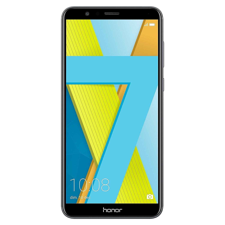 Honor 7X Smartphone, 4 G, Dual SIM, memoria interna de 64 GB, Android, 7.0 + EMUI 5.1, gris