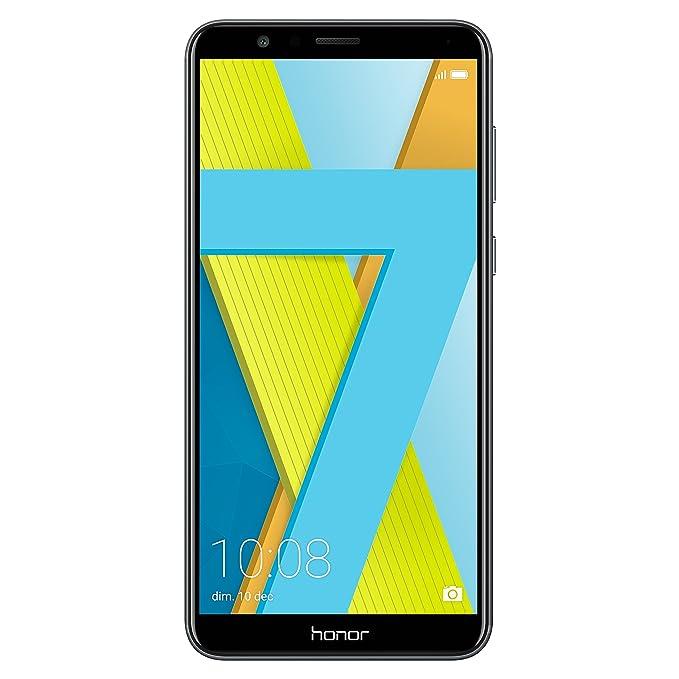 """Honor 7X Smartphone, Grigio, 64GB Memoria, 4GB RAM, Display 5.93"""" FHD+, Doppia Fotocamera 16+2MP [Italia]"""