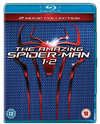 The Amazing Spider-Man 1-2 Double Pack Blu-ray Region-Free UK ...