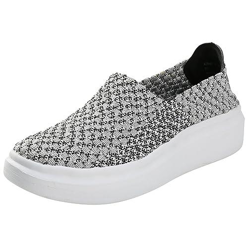 ffb257c61e17 Alexis Leroy Fitness Mesh- Zapatilla Deportiva de Material sintético  elástico Mujer Negro 40 EU   7 UK  Amazon.es  Zapatos y complementos