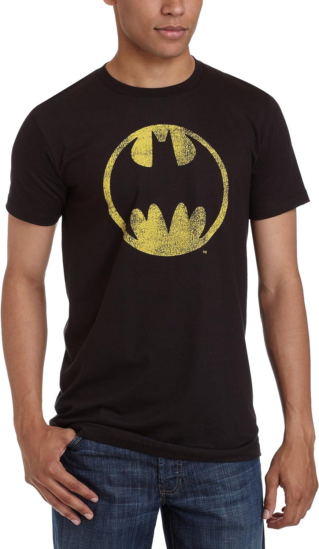 Bat Signal Adult Work Shirt Batman