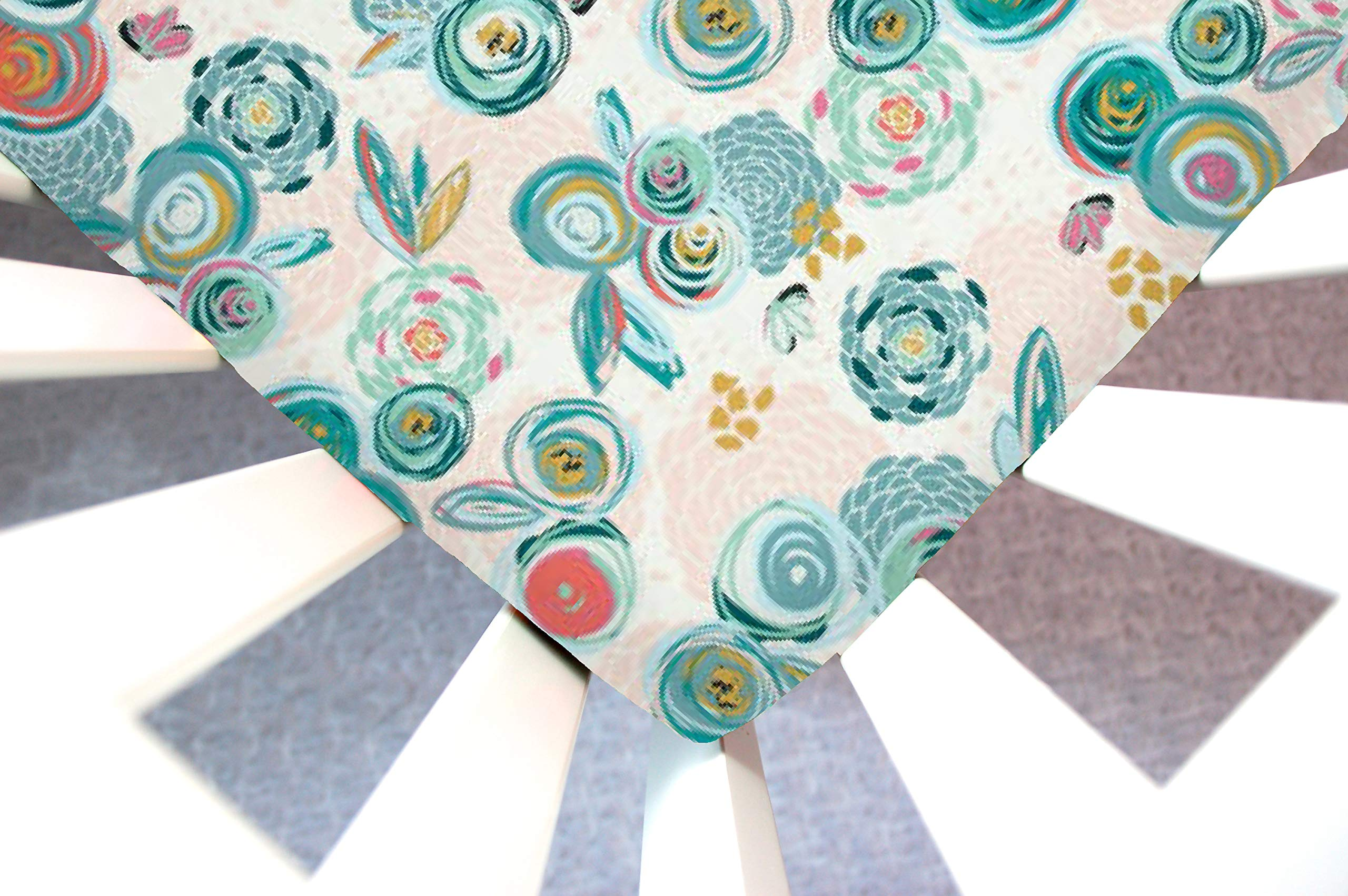 Little Moose by Liza Handmade Sheet Made to Fit Baby Bjorn Cradle in Sprayed Blooms Subtl (Whimsical Floral). This Sheet was Not Created or Sold by Baby Bjorn. by Little Moose By Liza LLC