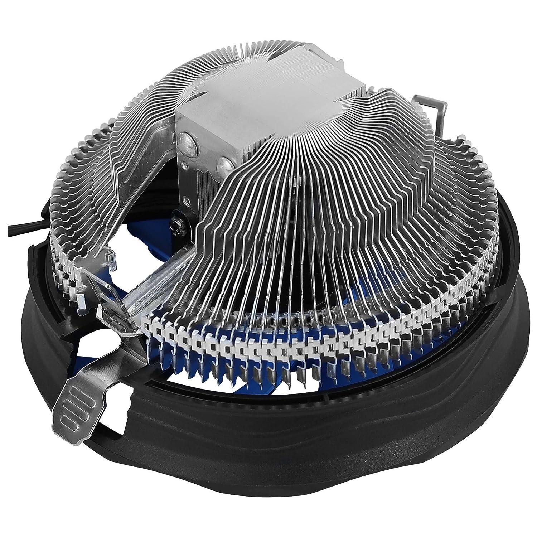 Aerocool VERKHO Plus - Disipador Gaming para Ordenador (Ventilador 120 mm, compatibilidad Universal AMD e Intel, tecnología PWM 4-Pin, Base Aluminio), ...