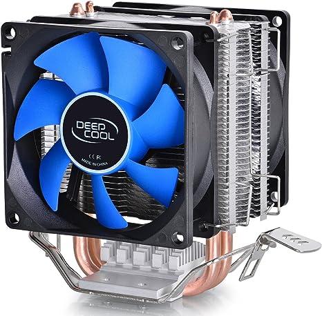 DeepCool Silencioso PC CPU Cooler Disipador de calor – 95 W, bajo ...