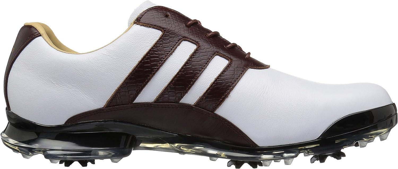 adidas Men's Adipure Classic Ftwwht/Re Golf Shoe