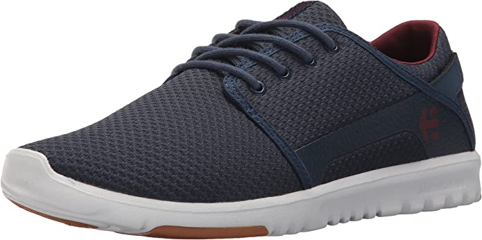 Etnies Scout Sneakers Herren Blau/Rot (Navy Blue /Red)