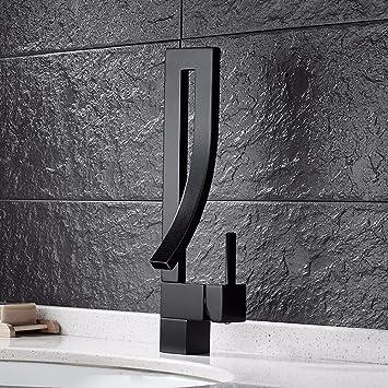 Hlluya Wasserhahn Fur Waschbecken Kuche Badezimmer Armaturen Kupfer
