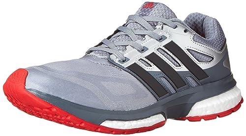 huge discount a68c7 0eb96 adidas Performance Men s Response Boost Techfit M Running Shoe,  Grey Black Metallic Silver
