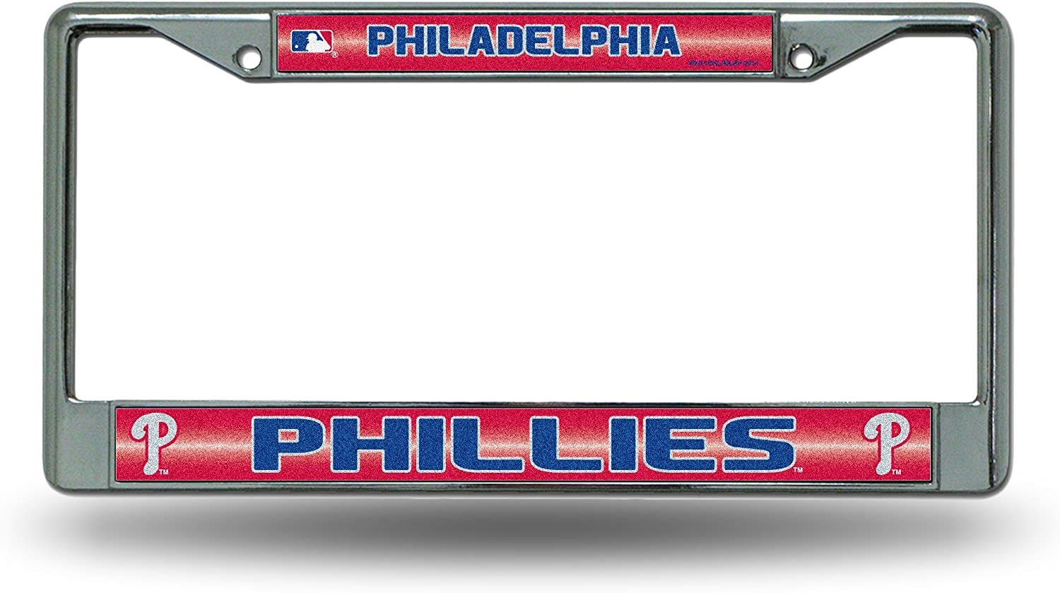 Chrome License Plate Frame Life Is Good When The Phillies Win Auto Accessory