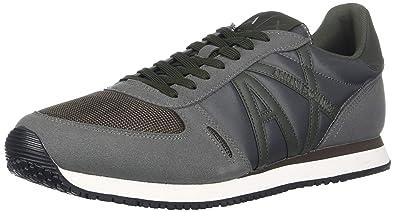 Armani Exchange Herren Schuhe Sneaker Micro Suede XUX017