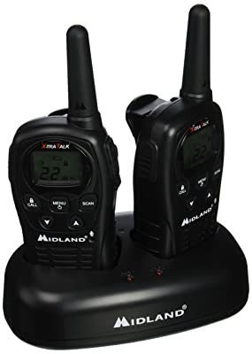 GMRS 2-WAY RADIO 24MILE by MIDLAND MfrPartNo LXT500VP3