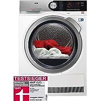 AEG TJUBILINE6 Wäschetrockner / effizienter Wärmepumpentrockner / Energieklasse A+++ (176 kWh pro Jahr) / 8 kg Frontlader / kein Einlaufen der Wäsche / Kondenstrockner mit Wärmepumpe / weiß