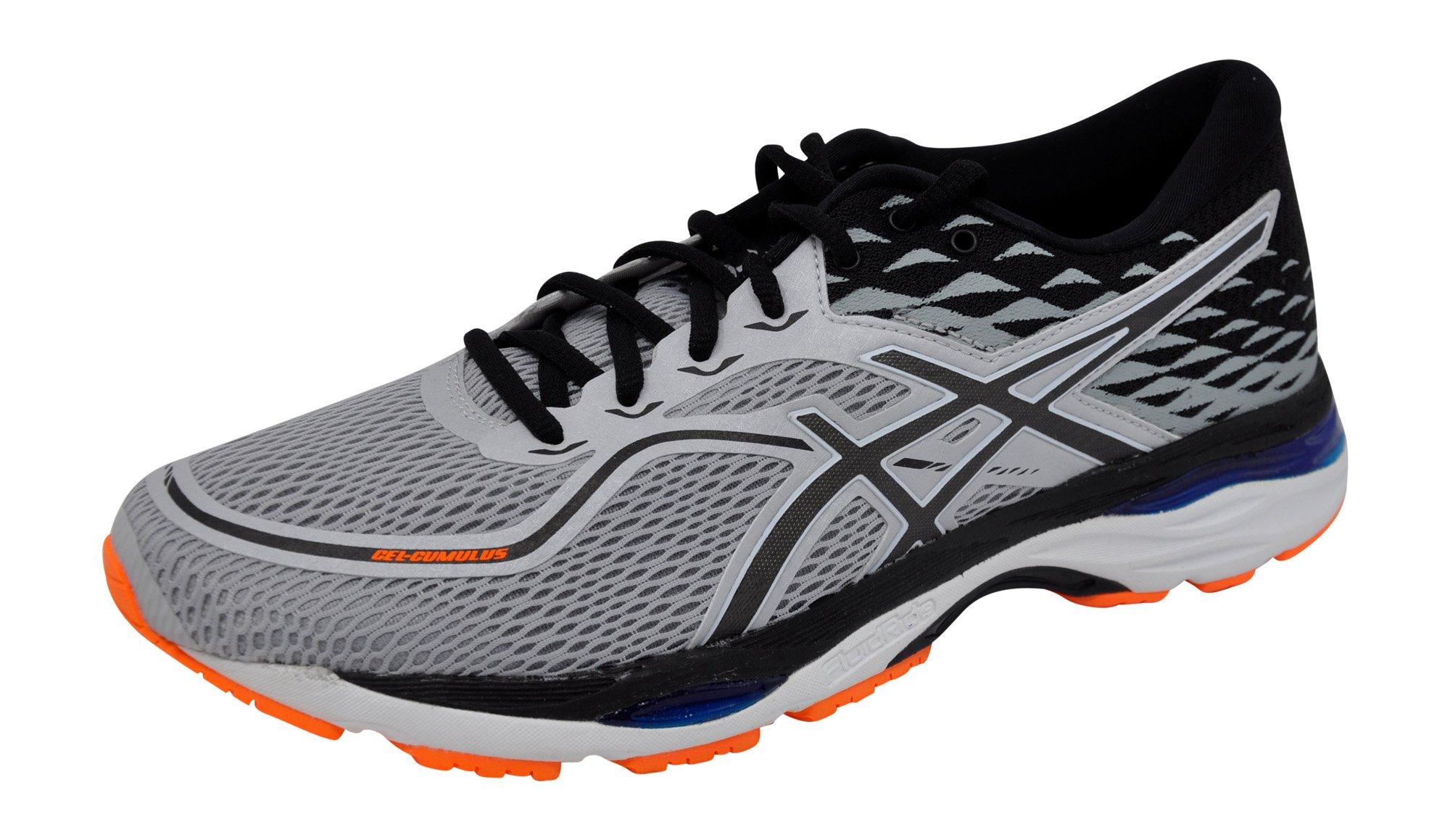 buy online 36dd3 3eb59 Galleon - ASICS Mens Gel-Cumulus 19 Running Shoe, Grey White, 11.5 M US