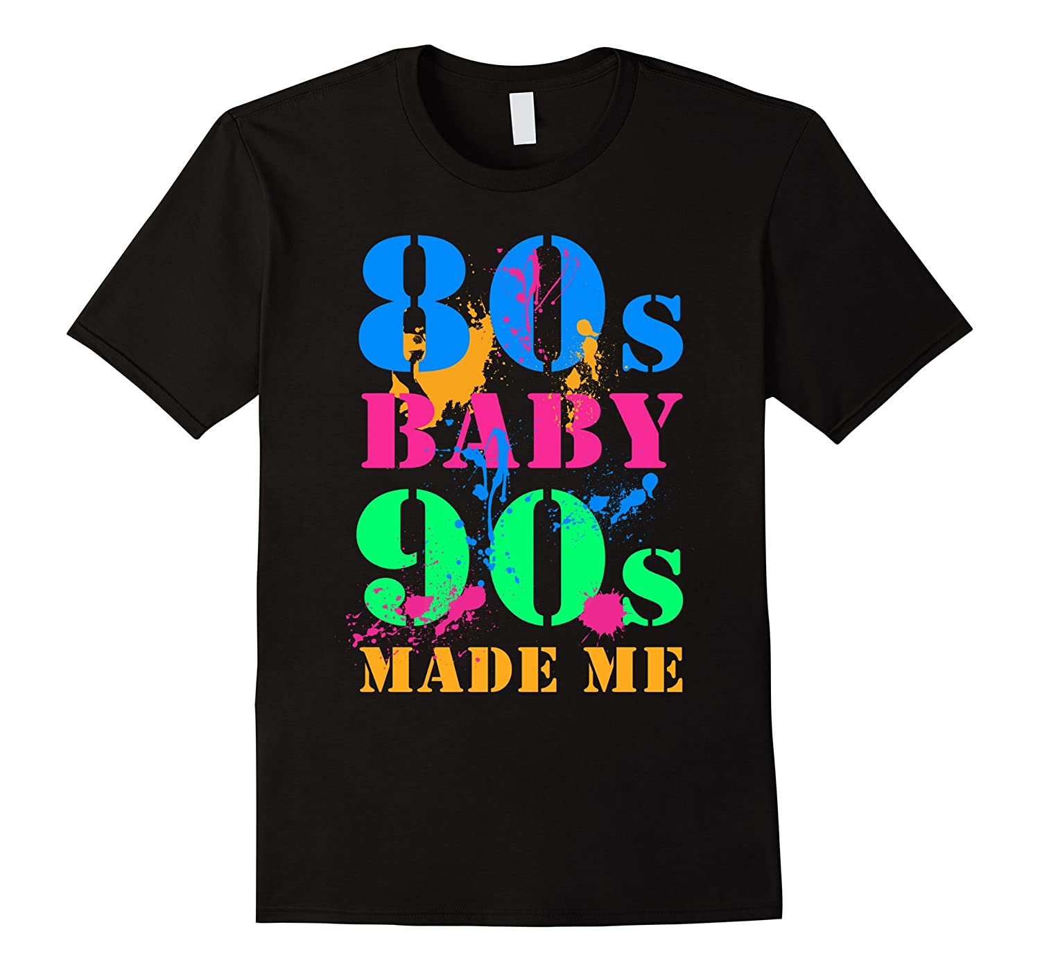80S BABY 90S MADE ME VINTAGE RETRO T-SHIRT-TH