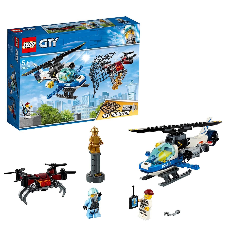 LEGO City - Police Policía Aérea: A la Caza del Dron, Set Creativo ...